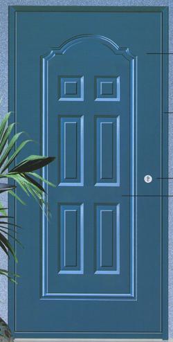 高层住宅贮藏间钢质门