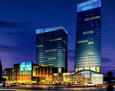 哈尔滨墙体亮化工程
