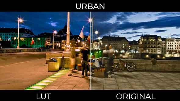 10个城市夜景运动LUTS预设包