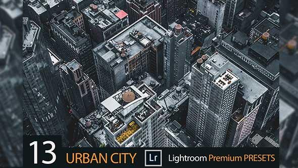 13组日间建筑城市日间摄影Lightroom预设