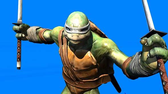 忍者神龟抠像素材(二)