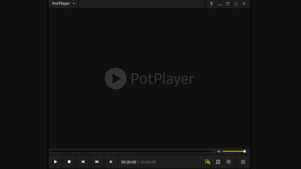 Potplayer视频播放器(无需安装)