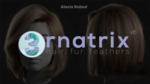 C4D插件-头发毛发羽毛模拟Ephere Ornatrix  C4D v1.0.0.22027汉化版