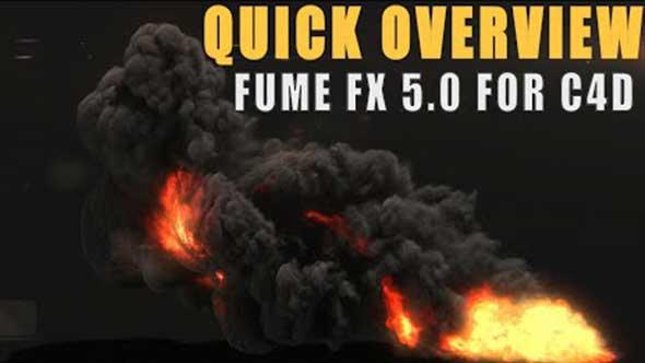 C4D教程-FUME Fx 5.0 for c4d概述及功能演示