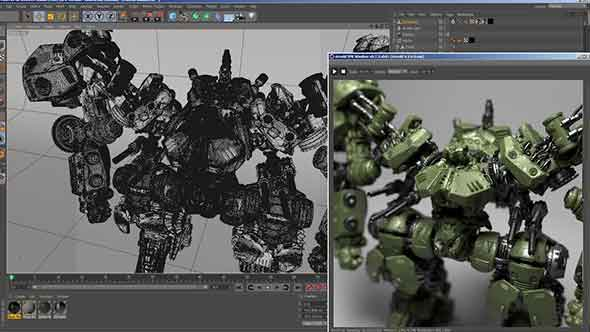 C4D渲染器-阿诺德渲染器 Solid Angle C4D to Arnold 3.0.2 win破解版
