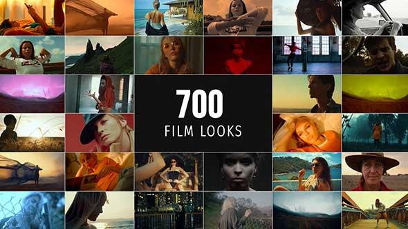 LUTS预设-700组电影婚礼音乐MV肖像时装风景商业生活