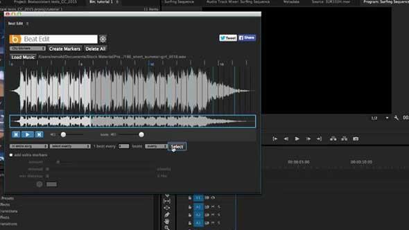PR插件-音乐鼓点节拍自动剪辑扩展插件BeatEdit中英汉化版
