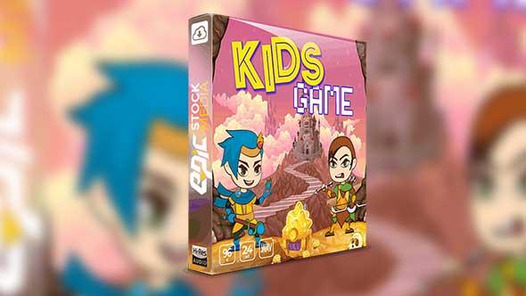 音效-儿童卡通游戏运动动作界面UI魔术气泡