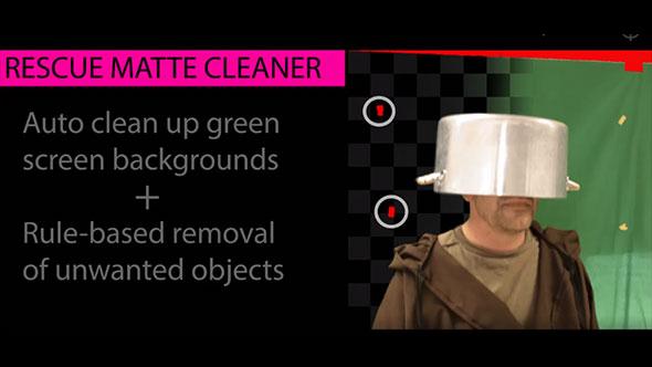 AE/PR插件-汉化版自动清除绿背抠像噪声和伪影残留