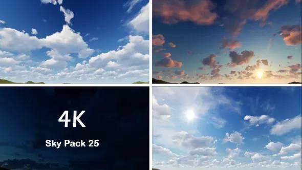 视频素材-蓝天白云高清视频素材