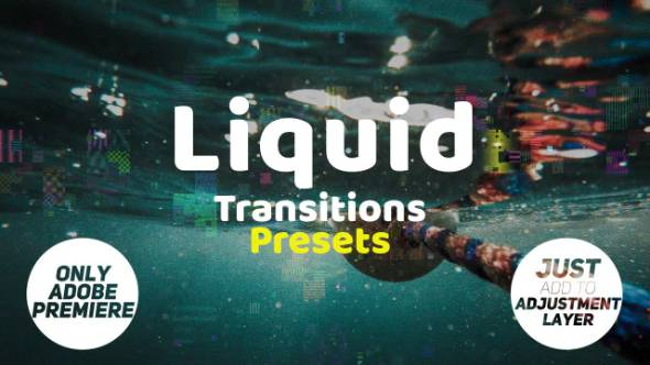 PR预设-15种液体过渡预设