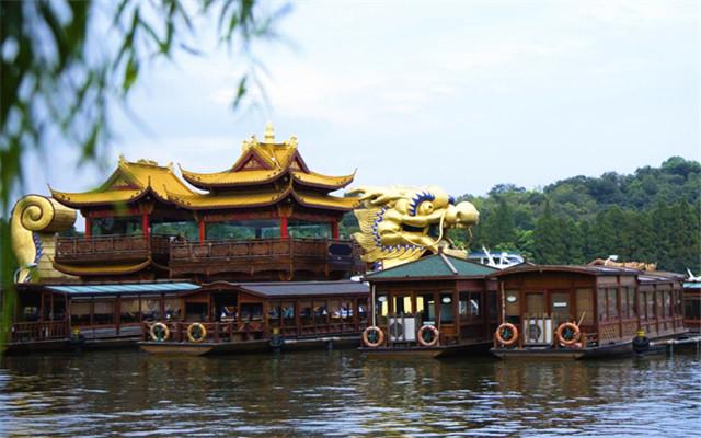 琉璃瓦<b>杭州西湖</b>