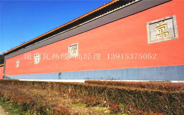 """素有""""金陵第一胜迹""""美誉的朝天宫, 红墙蓝天琉璃瓦"""