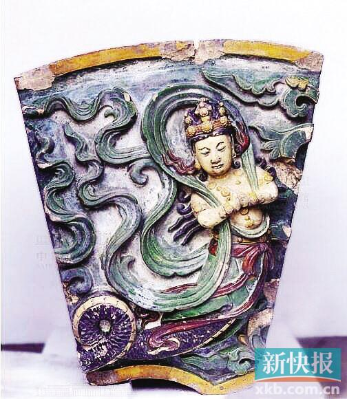 陕西河北等多处古建筑使用的仿古琉璃瓦配件