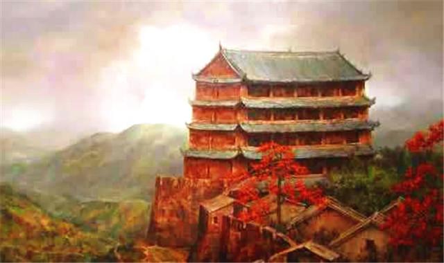 筒瓦铺盖的广东广州镇海楼