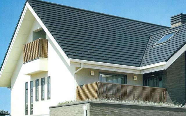 欧式平板瓦 屋面瓦