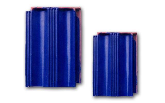 平板瓦 宝石蓝