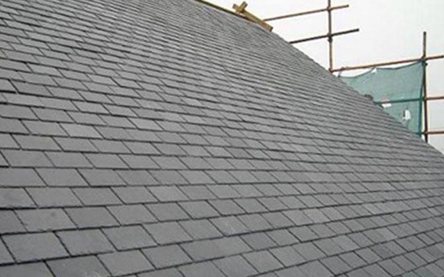 石板瓦屋面实例