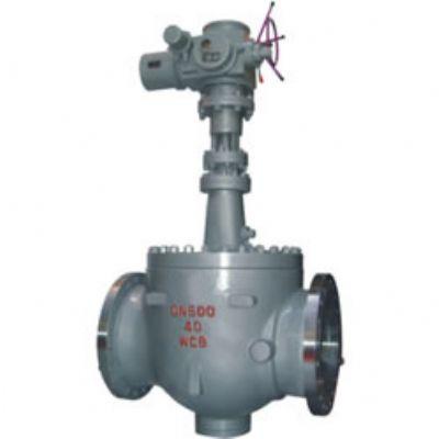 GQ47H 型 PN16~PN100 轨道式钢制球阀