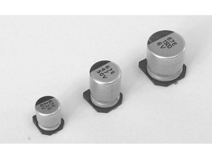 贴片铝电解电容的正负极如何区分?