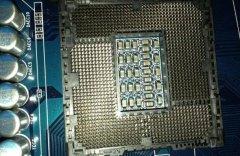 电脑处理器维修:cpu温度超