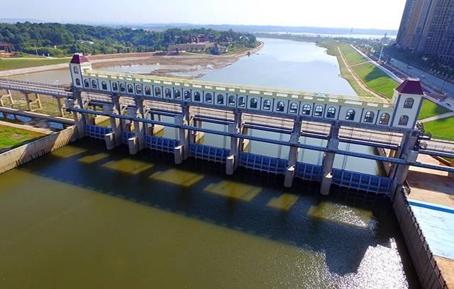 水渡河河坝改造工程