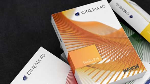 MAXON Cinema 4D C4D R19 Win/Mac中文版/英文版/破解版