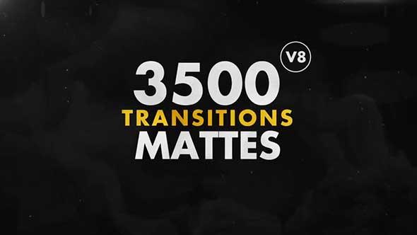 3000组4K分辨率图形蒙版遮罩转场