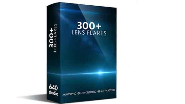 300组动作科幻电影变形镜头光晕叠加视频素材