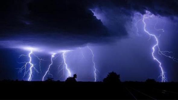 打雷、下雨、下雨水滴、雷雨交加音效