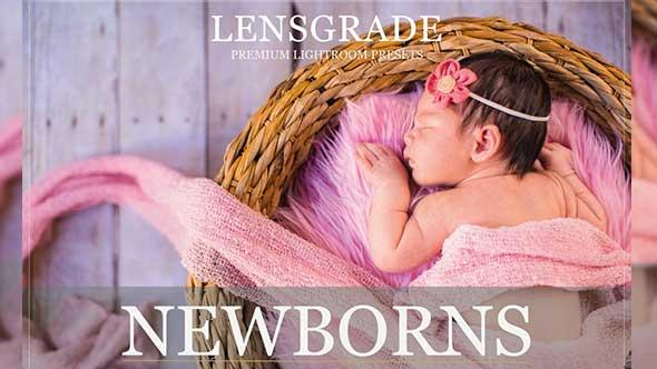新生儿和婴儿Lightroom预设系列