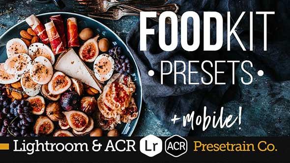 餐饮美食照片后期美化处理Lightroom和ACR预设