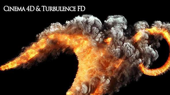 C4D插件-流体烟雾模拟插件TurbulenceFD汉化版