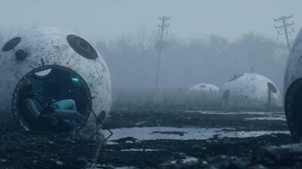 C4D教程-Octane Render科幻外星球场景动画工程(含工程文件)