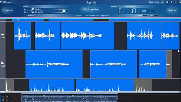 摄像视频多机位自动音频同步软件 汉化版