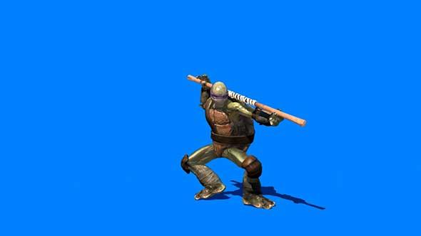 忍者神龟抠像素材(一)