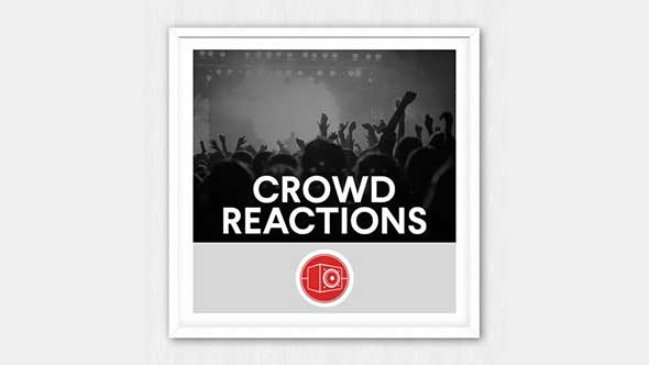 音效-自媒体短视频必备人群欢呼声掌声嘘声起哄声无损音效