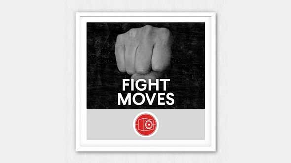 音效-近身搏斗拳打脚踢打斗电影无损音效