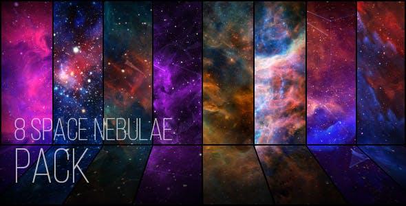 视频素材-8组宇宙空间星云特效动态背景视频素材