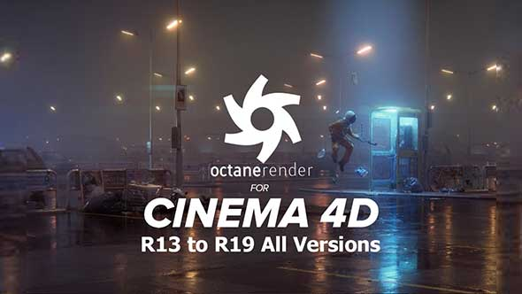 C4D渲染器-Octane Render 3.07 中英破解版+4.0试用汉化带水印