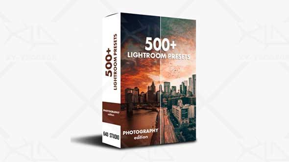 LR预设-500多个人物森林海洋多风格摄影预设包