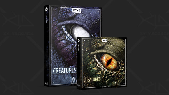 音效-电影游戏外星生物怪兽咆哮大喊音效