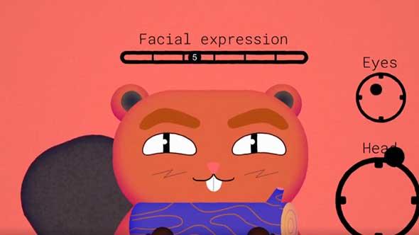 AE脚本-MG动画卡通人物脸部绑定制作工具