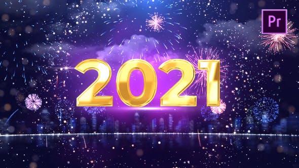 PR模板-颁奖典礼庆典圣诞节新年开场倒计时2021