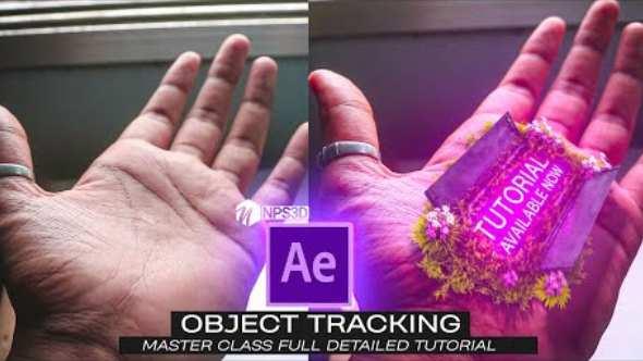 AE教程-E3D手部追踪特效制作