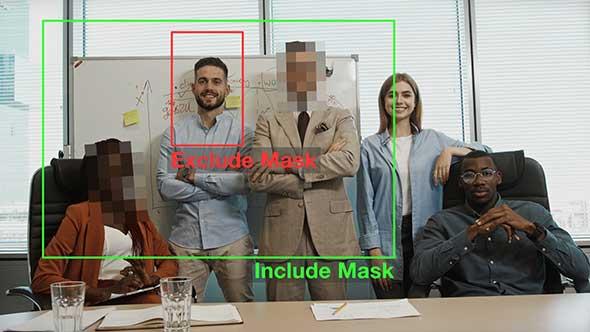 AE/PR插件-人工AI智能人脸自动识别马赛克模糊跟踪合成汉化版