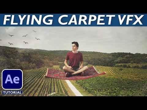 AE教程-如何创建飞毯特效