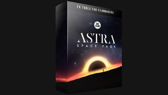视频素材-科幻星云行星地球陨石图片视频特效动画太空包