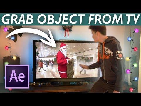AE教程-很火的电视取物特效教程