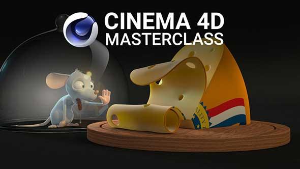 C4D教程-Cinema 4D高级案例终极指南